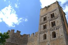 Monasterio románico de Sant Miquel de Fluvià. Siglos XI-XVII. Girona / Photo Travel History Art Architecture Fotografía Viajes Historia Arte Arquitectura