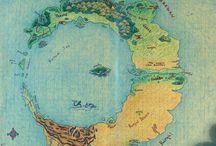 mapas imaginários
