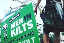 Men In Kilts Photos / Fun photos from our Men In Kilts brand. #WindowCleaning #GutterCleaning #SidingCleaning #PressureWashing #SnowRemoval