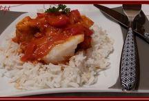 Le poisson / Des plats à  base de poisson