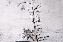 北欧クリスマス / 北欧のクリスマスツリー、お部屋のデコレーション、オーナメント