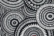 Zentangle & Pattern Design / Patterns, Zen, Tangle, Creation, Art, Tutorials