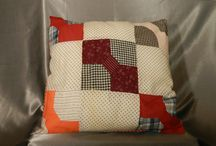 Vintage Pillows / What can you do with vintage fabrics?