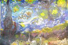 Artist - Vincent Van Gogh / by Alicia Buck