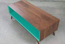 Meble stoliki drewno