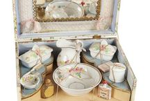 Tea Sets and Toilettes / and Dinner Service