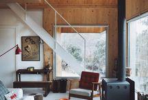 Hytte moderne interiør