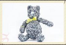 Miśki / Ręcznie robione Miśki, tradycyjne zabawki z pracowni rękodzieła S jak Szydełko