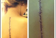 Tattoo/Piercing Ideas / by Kristin Maurer