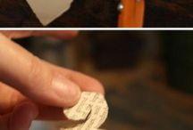 Rozen maken van geprint papier