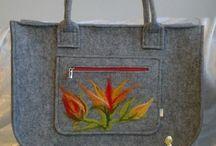 Felted Handbags / Torebki filcowe