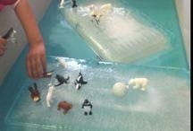 Sensory Play / Sensory play activities for toddlers and preschool children. Montessori and Reggio Emilia inspired activities.