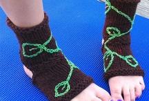 Yoga socks / by Karen Symons