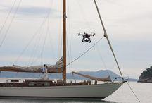 Bodas aéreas / Imágenes del varios making off de boda trabajando con el octocoptero para conseguir una espectaculares imágenes aéreas