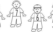 Friends Early Learning Printables / Find these friend activities and more at www.makinglearningfun.com!