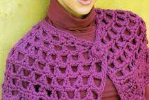 poncho facil a crochet