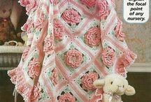 Crochet Afghan / Pläd / Filt / Virkad