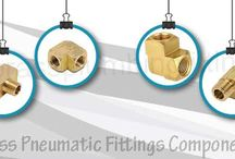 Brass Pneumatic Fittings Components