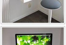 Regal als Schreibtisch von Ikea
