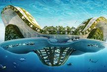 Дом будущего / Дом будущего. Экстерьер и интерьер дома будущего или какие-то интересные технологии.