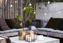 garden/cozy spot