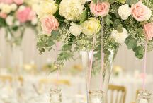 Pastels and Pearls / Give springtime a vintage twist with this wedding decor.