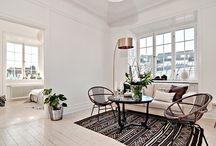 Scandinavian Style Interiors I Love!... / Nordic style deco...