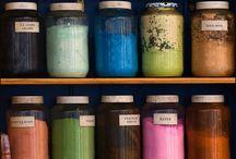 handmade dyes - tinture naturali