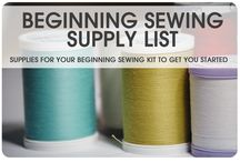 To sew or not to sew (Trying new things) / I have decided that I would like to start a new hobby, and have chosen sewing as the new endeavour. Wish me luck, as by the looks of it I'll definitely need it.