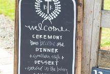 Wedding: Signs