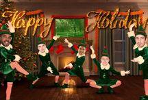 Felicitacion Navidad / Felicitacion equipo baloncesto Barça