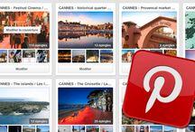 CANNES - Our social media / Nos réseaux sociaux
