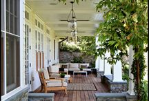 The Perfect Porch  / Porches, doors, and curb appeal  / by Taryn Parmelee