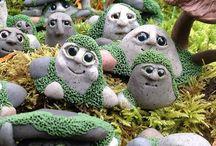 Garden gnomes to make