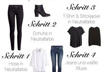 Neue Basic Garderobe