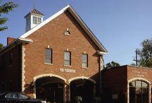 Our Awesome Office / our contemporary, loft style office located just outside Bethesda in the old Cabin John Firehouse on MacArthur.