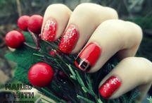 Новогодние ногти!
