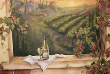 Mural - Dinning Space / Mural for a restaurant, coffee shop or any other places to eat.
