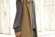 crochet dame jakke/trøje