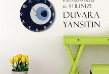 Saatler / Porland saatleri ile stilinizi duvara yansıtın! http://bit.ly/1yIH7Ec