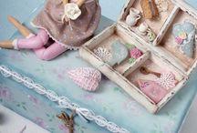 Торты шебби,  винтаж, романтик