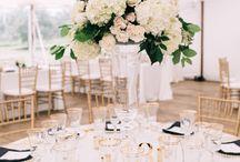 White/Greenery Wedding