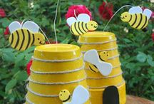 Flower pot bees