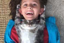 Cats / Cat's world. Mundo dos Gatos.