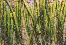 Garden recipes - asparagus