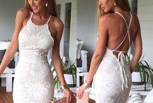 Vestidos espalda