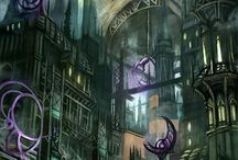 RP Setting & Concept Art / Art that inspires the stories / by Wendy Neeld