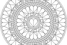 Mandalas & Coloring pages