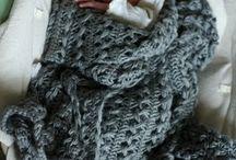 Crochet blanket girl