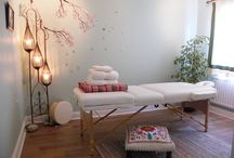 {Healing Rooms: Reiki, Crystal Healing, Meditation, Massage} / Inspirational decorating ideas for professionals in the healing arts. / by Nicole Dantzler